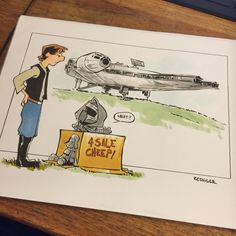 #lilkylo took it upon himself to sell off some of his dad's garbage.