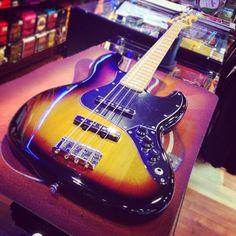 Squier by Fender Jazz Bass Vintage Modified SOLD! Bye bye #jazzbass #Squier #squierbass #bass #bassguitar #basso #bassoelettrico #bassline