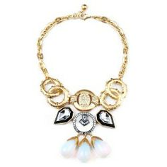 LuLu Frost Big Bang Necklace Original $495 Now $78
