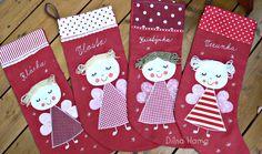 ♥     Dílna Hama    ♥      : Mikulášské punčochy pro holky i pro kluky Christmas Decorations, Holiday Decor, Christmas Ideas, Sewing For Kids, Advent, Christmas Stockings, Diy And Crafts, Blog, Cards