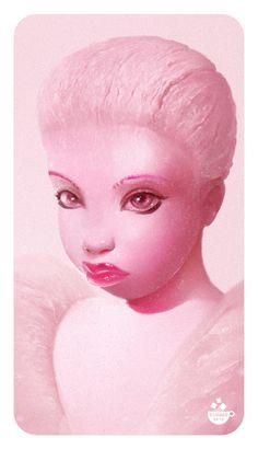клубничный пломбир МАКС КОМАКО #girl #candy #chocolate #nicy #lolipop #max_komako #sugar #nicy #sweet #сладкие_иллюстрации #candy_art #foodporn