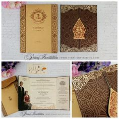 Vinas invitation. Wedding invitation. Shabby invitation. Shabby design. Wedding custom invitation. Any question please visit us at website www.vinasinvitation.com . Courtesy of Louisa & Reza. Traditional invitation