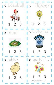 Spring Clap the Syllables!Here is a fun way to practice breaking apart words into syllables. This printable will help children hear the sounds (. Pre Reading Activities, Literacy Activities, Literacy Centers, Beginning Reading, Guided Reading, Teaching Reading, Kindergarten Phonics, Kindergarten Language Arts, Phonological Processes