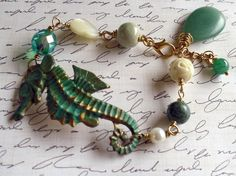 Wild Seahorse Bracelet for @Jeanine DeOre Robinson Curphey too!
