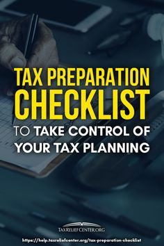 Having a tax preparation checklist will give one the power to fully control the complicated process of income tax preparation. So on your next tax filing, save some time and effort with this income tax checklist. Tax Refund, Tax Deductions, Income Tax Preparation, Moving Expenses, Tax Help, Preparing For Retirement, Federal Income Tax, Income Tax Return, Tax Credits