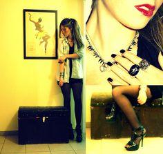 Jean & Jewels (by Marili Kokoli-Karolidou) http://lookbook.nu/look/4224797-Jean-Jewels