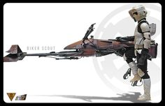 speeder bike scout trooper | Tags: biker scout , scout trooper , speeder bike…
