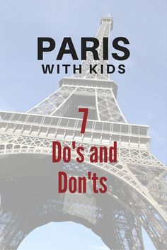 7 surprising tips on what to do with kids in Paris, from http://Jenography.net