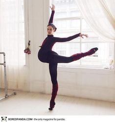 Bailarina mostra lindas imagens da gravidez