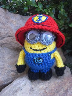 Ravelry: Minion and Evil Minion pattern by Melissa's Crochet Patterns
