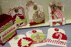 Stampin' Up! Christmas Tags  by Madonna Dunn