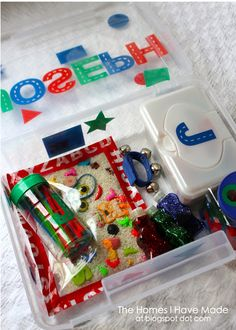 The Homes I Have Made: DIY Toddler Toys - Part I