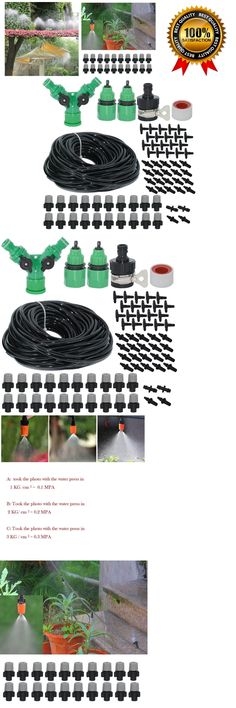 Hose Nozzles and Wands 181015: Misting Cooling System For Outdoor Patio Garden Greenhouse Mist Air Cooler 82Ft -> BUY IT NOW ONLY: $32.69 on eBay! Cooling System, Irrigation, Garden Plants, Wands, Patio, Homesteads, Outdoor, Ebay, Gardens