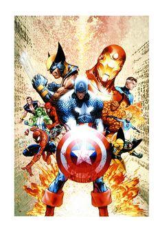 Marvel Comics - Stan Lee Civil War #1 I