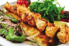 Gotta love tavuk şiş kebap (chicken shish kebab)