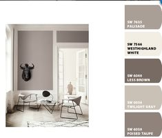 Sherwin Williams paint colors, using Chip It!