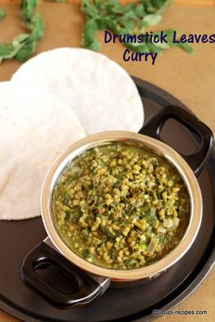 drumstick leaves curry-yummy chapati side dish