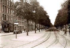 BEGROEIING | Amsterdam: De Overtoom toen het nog een echte ''laan'' was in de jaren 30