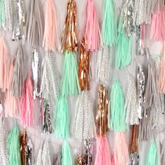 These custom Bash Party Goods garlands by Studio Mucci are too good! Tassel Garland, Tassels, Garlands, Birthday Diy, Girl Birthday, 12th Birthday, Lily Cat, Classroom Decor Themes, Carnival Classroom