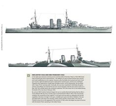 HMS Exeter and HMS Frobisher