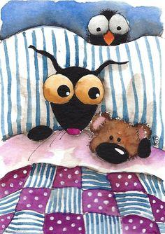 Stressie cat & the Teddy