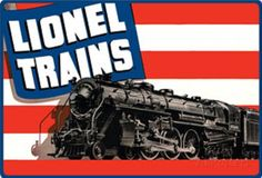 Lionel Trains American Flag Tin Sign at AllPosters.com