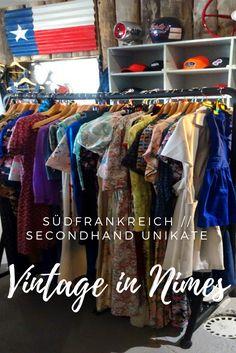 Zwischen Montpellier und Marseile erwartet dich ein weiterer toller Shop für Secondhand und Vintage Unikate. Eine weitere Perle Südfrankreichs, in Nimes gelegen - Togs Vintage. Erfahre mehr unter: www.hundredhands.de