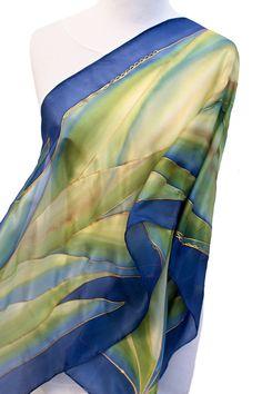 Royalty Purple Silk Handkerchief 11x11
