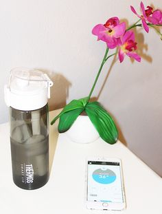An Easy Way to Track Water Intake with Thermos Connected Hydration Bottle with Smart Lid | The Southern Thing | Bloglovin'