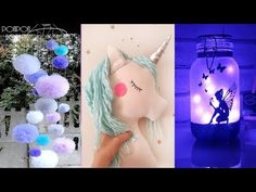 Amazing Room Decor! Easy Crafts Ideas at Home - Should See DIY Unicorns - YouTube