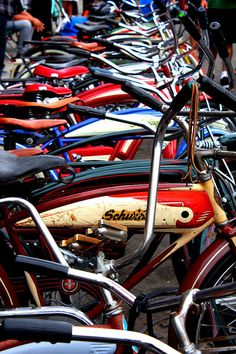 Vintage Bicycles at Venice Beach