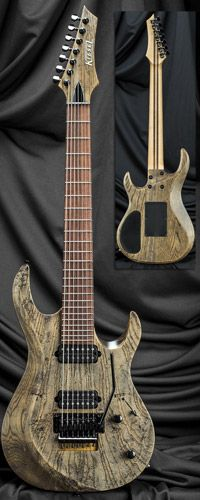 Carvin Guitars A7C 24 Fret Bolt-On Neck 7-String Guitar w/ Floyd Rose Tremolo Serial Number 133236