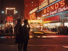 Times Square night in 1970. Photo by James Wolcott  http://oldnewyorklandia.tumblr.com/post/117653617984
