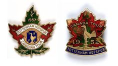 New from e-Hotspur magazine - History of Spurs in Specific Objects. This month, tour badges Tottenham Hotspur Fc, Football, History, Badges, Objects, Magazine, Art, Soccer, Art Background