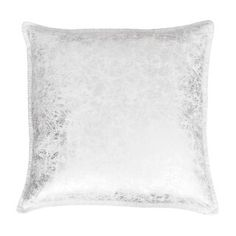 Thro by Marlo Lorenz Charlie Crackle Foil Printed Whipstitch Throw Pillow, Grey Modern Throw Pillows, Sofa Pillows, Decorative Pillows, Silver Pillows, Pillow Arrangement, American Decor, Home Decor Outlet, Shabby Chic Furniture, Baby Clothes Shops