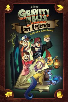 A collection of four all-new strange stories from the sleepy town of Gravity Falls in one original graphic novel. Written by Alex Hirsch. Illustrated by Talented Folks To Be Revealed Soon!