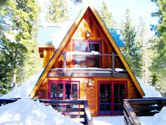 Homeaway Cozy Cabins - Cabins You Can Rent - Country Living Mammoth Lakes CA sleeps 6 rates vary