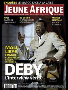 La couverture de Jeune Afrique le 15 Juillet 2012