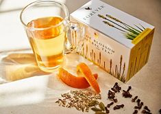 This refreshing herbal tea is made from Aloe blossom, cinnamon, orange peel and cloves to make a relaxing drink and is perfect as iced tea too. Aloe Vera, Aloe Blossom Herbal Tea, Caffeine Free Tea, Forever Business, Ginger And Cinnamon, Forever Aloe, Forever Living Products, Healthy Alternatives, Herbalism