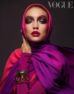 Vogue Arabia March 2017 Gigi Hadid by Inez and Vinoodh