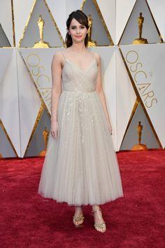 Felicity Jones by Dior - Oscars 2017