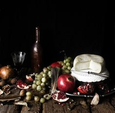 A still life I styled and shot for a french site related to all things gastronomy.