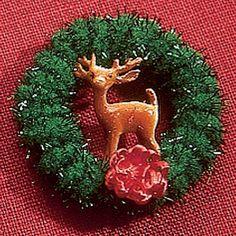 Mini Wreath How To Make.