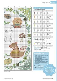 Welcome To The World (Lisa Reakes) From The World of Cross Stitching N°244 August 2016 4 of 5