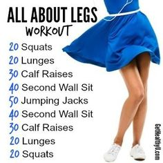 THIS is the workout you need for those hot summer skirts! THIS is the workout you need for those hot summer skirts! Zumba Fitness, Body Fitness, Fitness Tips, Fitness Motivation, Health Fitness, Health Diet, Health Goals, Thigh Exercises, Health And Wellness