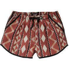 Scotch & Soda Cute Retro Inspired Ikat Shorts ($91) ❤ liked on Polyvore