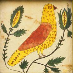 Pennsylvania Folk Art painting - Price Estimate: $300 - $500