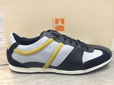 Hugo Boss Mens Shoes Fashion Sneakers Trainers Simbad BY Boss Orange NEW IN BOX   eBay