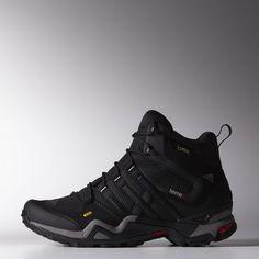 sports shoes 4058a 6f930 adidas - Zapatilla Terrex Fast X High GTX Carbon   Black   Light Scarlet  G97920 Tienda