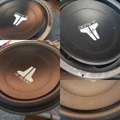 "New surround foam for jl audio 12"". Sounds crisp now. #jlaudio #subwooferrepair #repairsharks"